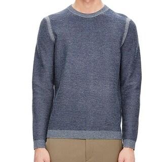 Theory NEW Blue Bilen Mens Size Medium M Crewneck Orben Sweater