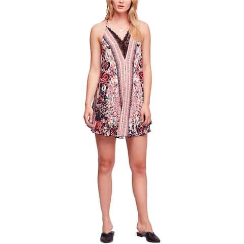 Free People Womens Love Bird Mini Dress
