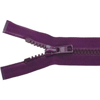 """Vislon Sport Separating Zipper 22""""-Vatican"""