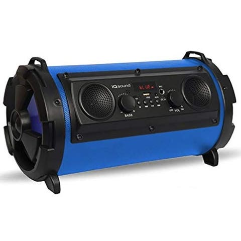 Portable Bluetooth DJ Speaker System Blue