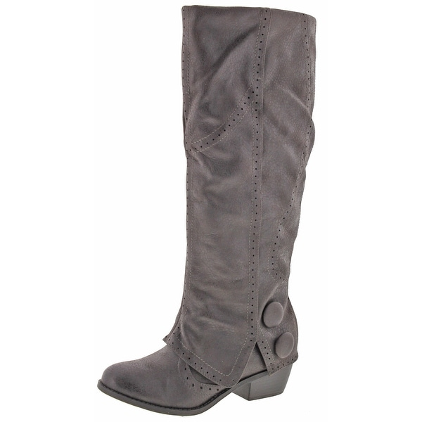 Not Rated Naughty Monkey Blanchee Women's Tall Shaft Knee-High Boots