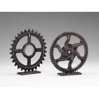 """Cyan Design 4732 11.75"""" Gear Sculpture"""