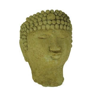 Link to Designer Stone Harvest Yellow Buddha Head Concrete Wall Mounted Planter - 11 X 8 X 5.5 inches Similar Items in Outdoor Decor