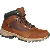 "Rocky Men's 5"" Stratum Waterproof Outdoor Boot Brown Full Grain Leather/Nylon"