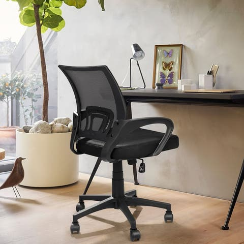 Office Chair Mesh Chair Computer Desk Chair with Armrest
