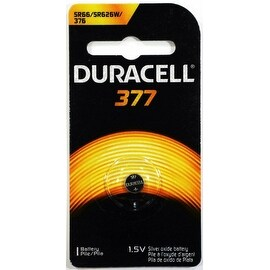 Duracell Silver Oxide Battery Watch/Electronic 1.5 Volt 377 1 Each