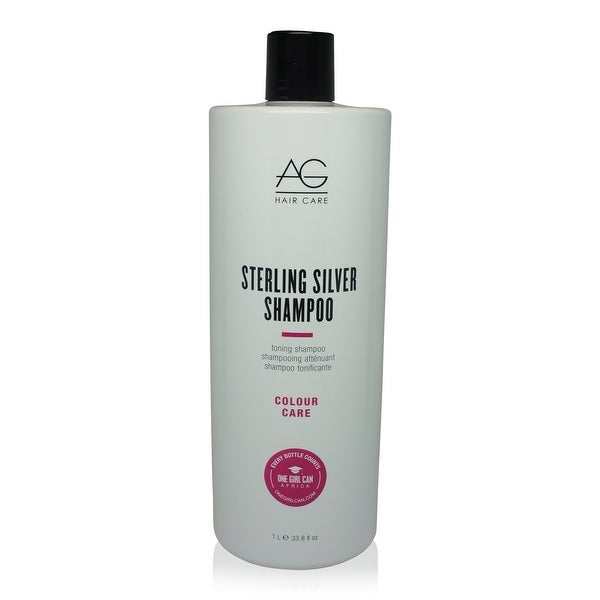 AG Hair Sterling Silver Shampoo 33.8 Oz