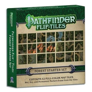 Paizo PZO4073 Pathfinder Flip Tiles Dungeon Starter Set