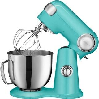 Cuisinart SM-50TQ Precision Master 5.5-Quart Stand Mixer, Turquoise