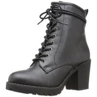 ZIGI SOHO Womens KOURTLAN Closed Toe Ankle Fashion Boots