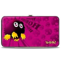 Kuriboh Pose Mini Kuriboh Pinks Hinged Wallet - One Size Fits most