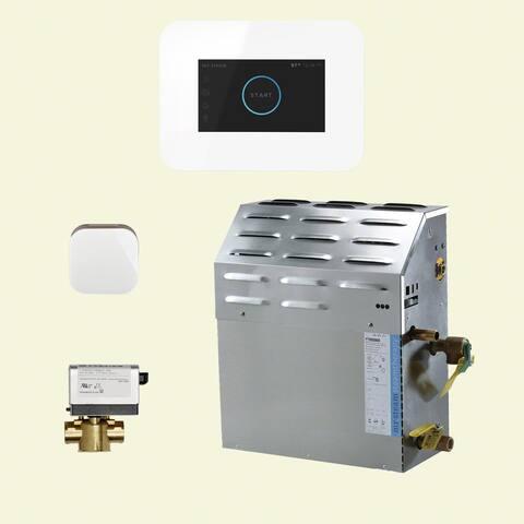 Mr Steam S2C1AI3 iSteam Steam Shower Package with 240V Steam Generator