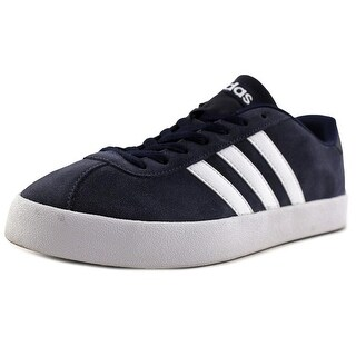 Adidas Vlcourt Vulc   Round Toe Suede  Sneakers