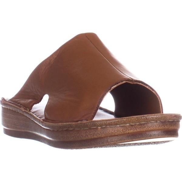 Bella Vita Mae-Italy Slide Sandals, Tan