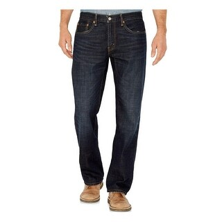 Levi's Mens 559 Straight Leg Jeans Relaxed Indigo Wash