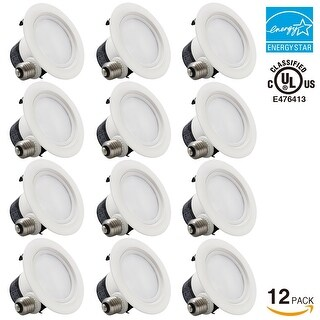 1PACK/4 PACK/12 PACK 4 inch Dimmable Recessed LED Downlight, 12W 2700K/5000K