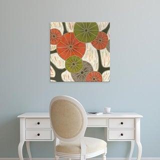 Easy Art Prints Karen Deans's 'Morning Glories I' Premium Canvas Art