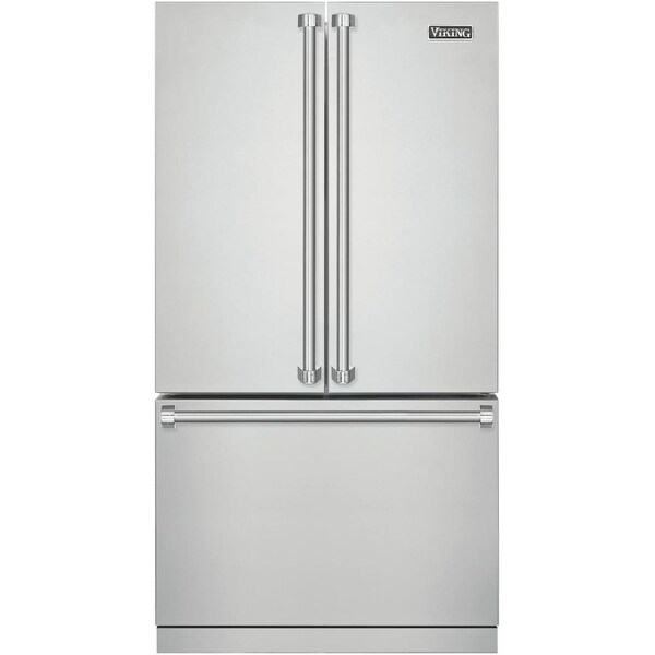 Viking RVRF3361 36 Inch Wide 22 1 Cu  Ft  French Door Refrigerator with  Cold Zon - Stainless Steel