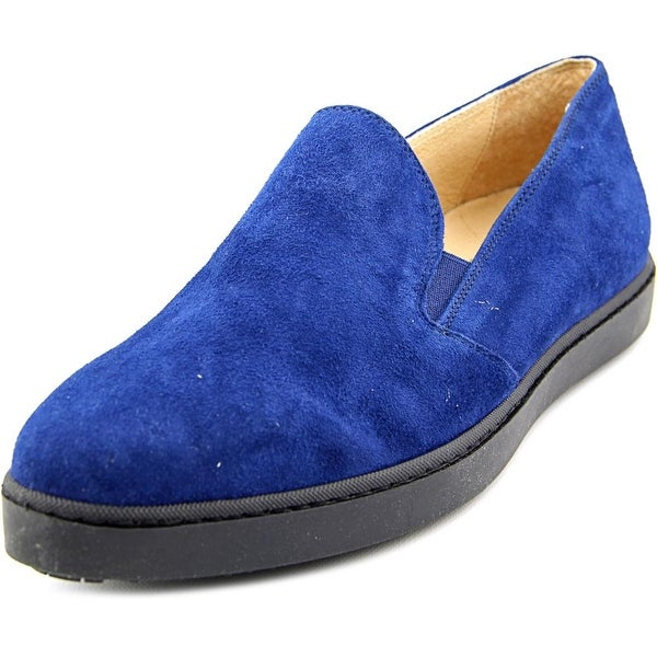 FS/NY Omen Women Round Toe Suede Loafer