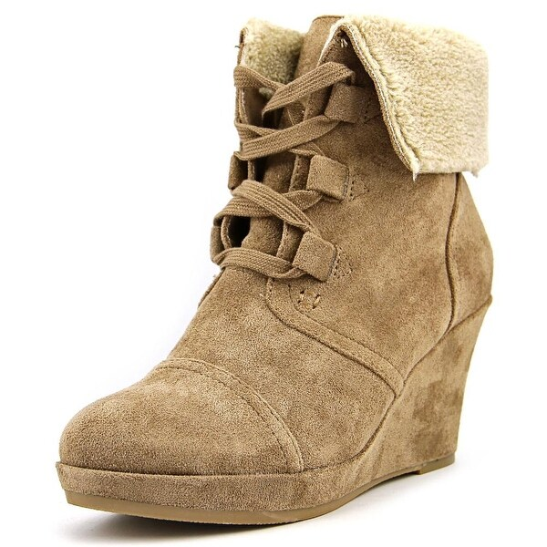 Report Justise Women  Round Toe Synthetic Tan Winter Boot