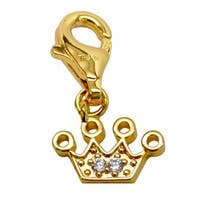 Julieta Jewelry Crown CZ Clip-On Charm