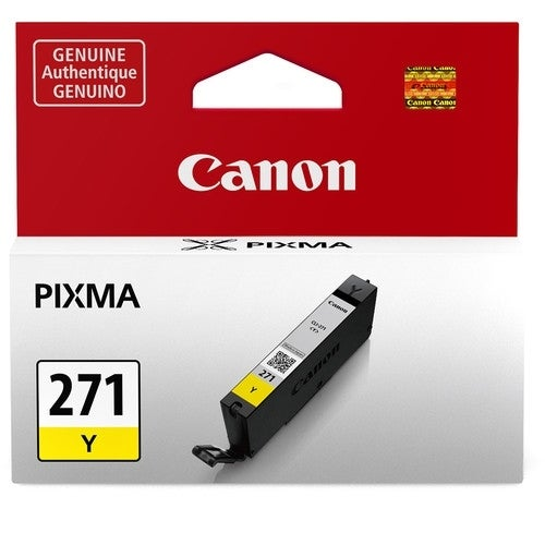 """Canon CLI-271 Y Ink Tank Canon CLI-271Y Ink Cartridge - Yellow - Inkjet"""