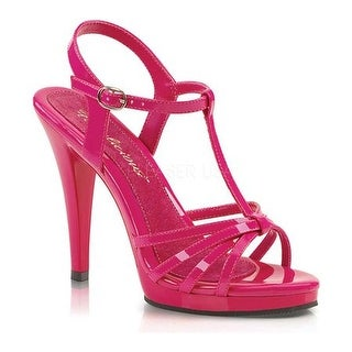 Fabulicious Women's Flair 420 Hot Pink Patent/Hot Pink
