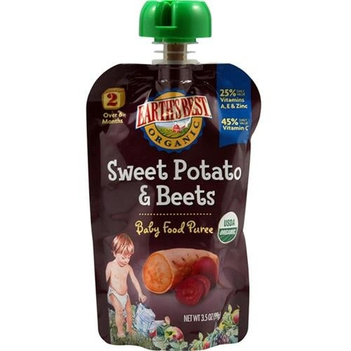 Earth's Best - Organic Sweet Potato & Beet ( 12 - 3.5 OZ)