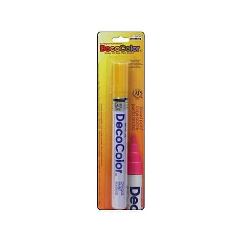 U300c 5 uchida decocolor broad point card yellow