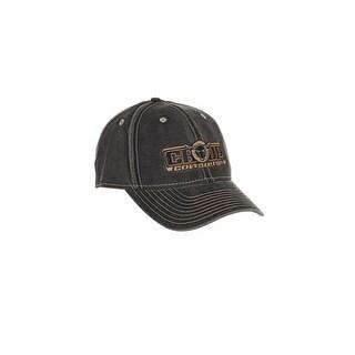 Cowboy Up Western Hat Mens Adjustable Baseball Vintage Black CUH1092