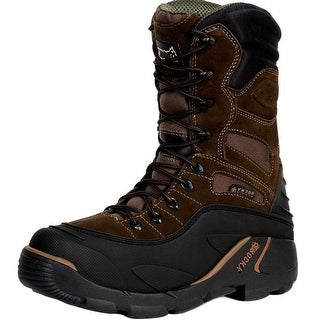 "Rocky Outdoor Boots Mens 9"" BlizzardStalker Pro WP Brown"