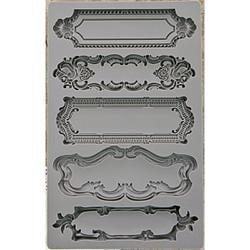 Prima Marketing Iron Orchid Designs Vintage Art Decor Mould baroque #1
