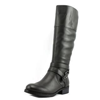 Bandolino Tessi Round Toe Leather Mid Calf Boot|https://ak1.ostkcdn.com/images/products/is/images/direct/668d4948506c7167f23d6a9516ca1b020bdc423d/Bandolino-Tessi-Women-Round-Toe-Leather-Brown-Mid-Calf-Boot.jpg?impolicy=medium