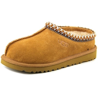 Ugg Australia Tasman Youth Round Toe Suede Tan Slipper