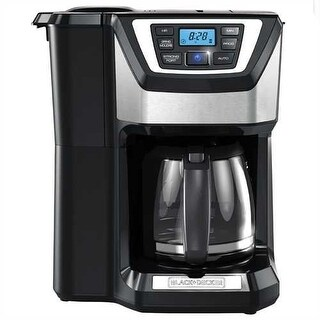 Refurbished Black and Decker 12 cup Mill & Brew digital coffee maker
