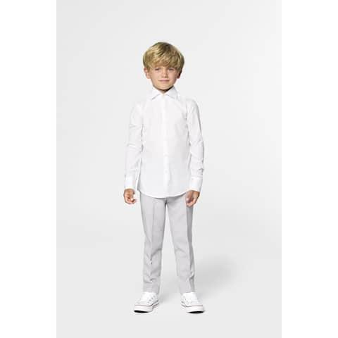 Snow White Classic Boy Child Slim Fit Shirt - Medium