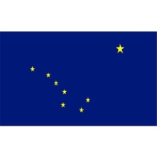 3 x 5 ft. Alaska State Flag