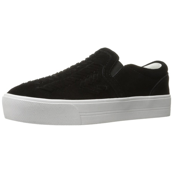 Marc Fisher Womens Dexie Suede Low Top Slip On Fashion Sneakers