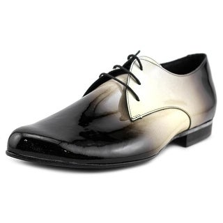 Stephane Verdino Verni Round Toe Patent Leather Oxford
