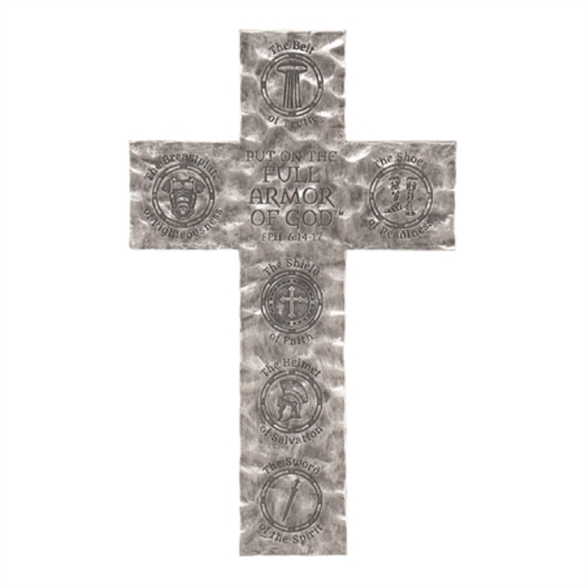 Black Cross Shaped Religious Wall Decor