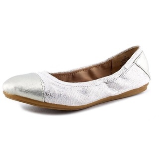 Easy Spirit e360 Gessica Round Toe Canvas Ballet Flats