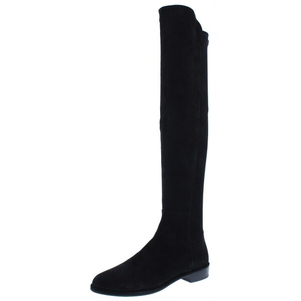 7511395fbde Shop Stuart Weitzman Womens Allgood Riding Boots Suede Over-The-Knee ...