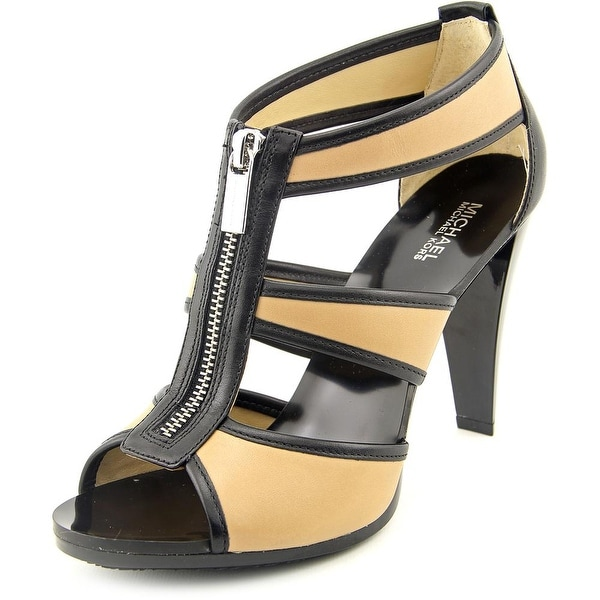 b2e0800eb795 Shop Michael Michael Kors Berkley T Strap Open Toe Leather Sandals ...