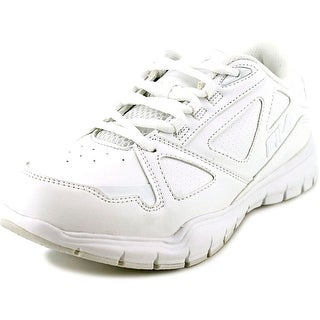 Fila Side By Side Youth Round Toe Synthetic White Tennis Shoe
