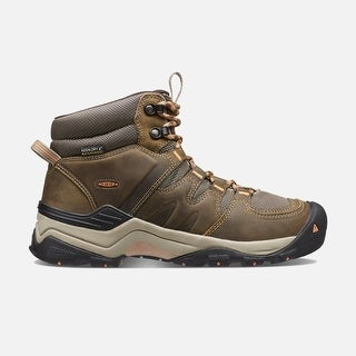 Keen Gypsum II Mid WP Womens Hiking Boot - cornstock gold coral