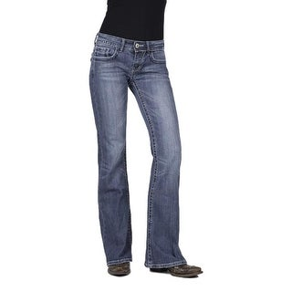 Stetson Western Denim Jeans Womens Classic Dark