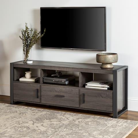 Carbon Loft Hamilton 60-inch Charcoal TV Stand Console