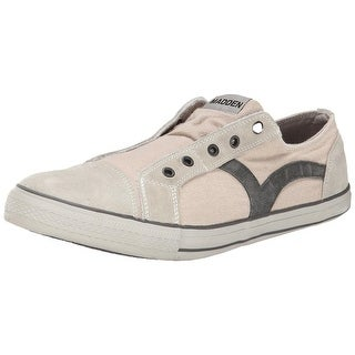 Madden Mens Utica Canvas Laceless Fashion Sneakers