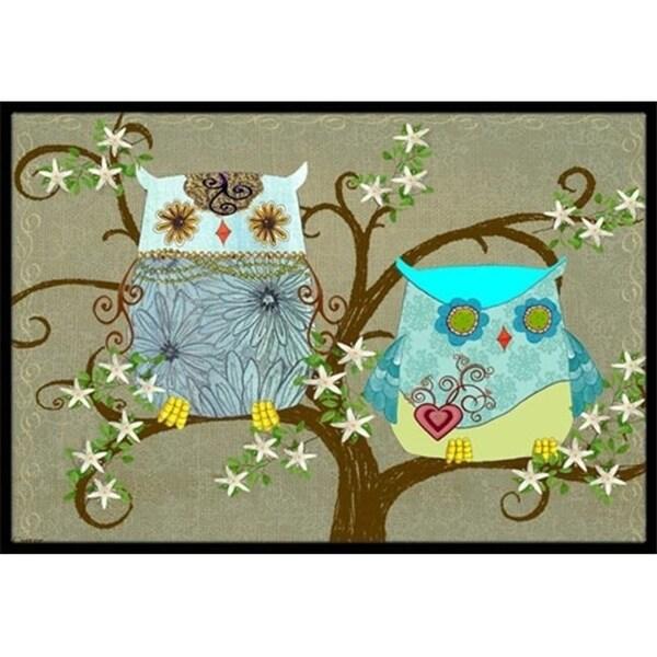 Carolines Treasures PJC1094JMAT The Friendly Ladies Owl Indoor & Outdoor Mat 24 x 36 in.