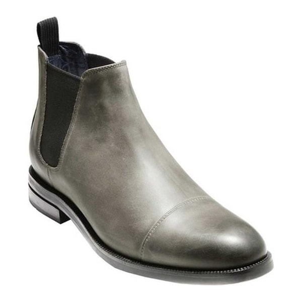 23ed0905ff4 Shop Cole Haan Men's Wagner Grand Chelsea Boot Midnight Grey ...